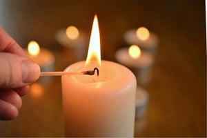Kauniit kynttilät